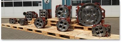 varius cylinder heads